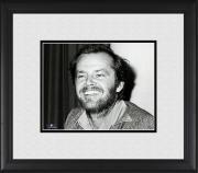 "Jack Nicholson Framed 8"" x 10"" Smiling Photograph"