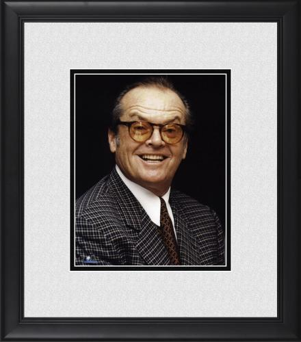 "Jack Nicholson Framed 8"" x 10"" Wearing Glasses Photograph"