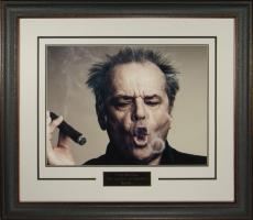 Jack Nicholson I AM WHO I AM 16x20 Cigar Photo Framed