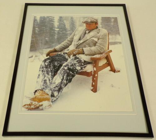 Jack Nicholson in the snow 1981 Framed 11x14 Photo Display