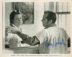 Jack Nicholson Louise Fletcher Signed Auto Cuckoo's Nest 8x10 Photo PSA/DNA