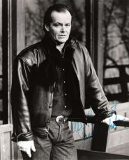 "JACK NICHOLSON - Movies Include ""ONE FLEW OVER the CUCKOO'S NEST"", ""THE SHINING"", and ""BATMAN"" Signed 8x10 B/W Photo"