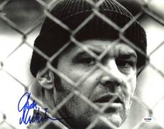 Jack Nicholson One Flew Over The Cuckoo's Nest Signed 11X14 Photo PSA #AB31206
