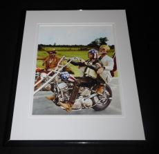 Jack Nicholson Peter Fonda Easy Rider Framed 8x10 Photo Poster B