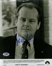 Jack Nicholson Psa/dna Coa Hand Signed 8x10 Photo Authenticated Autograph