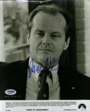 Jack Nicholson Psa/dna Coa Hand Signed 8x10 Photo Authenticated Autograph