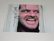 Jack Nicholson The Shining Autographed 8x10 Photo