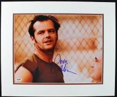 Jack Nicholson Signed 11x14 Matted Photo Autographed Psa/dna #t76041