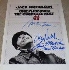 Jack Nicholson Signed 11x14 Photo One Flew Over The Cuckoos Nest Poster +2