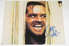 Jack Nicholson Signed 11x14 Photo The Shining Proof Pic Autograph Coa H
