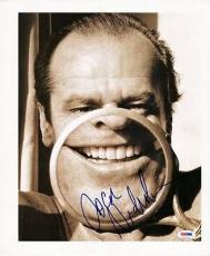 Jack Nicholson Signed 12x14 Magazine Page Photo Psa/dna #v27673