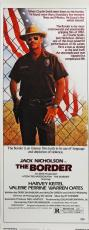 Jack Nicholson Signed 14X36 The Border Movie Poster PSA/DNA #I11893