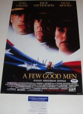 Jack Nicholson Signed A Few Good Men Photo Poster Psa