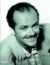 Jack Nicholson Signed Authentic Autographed 11X14 B/W Photo PSA/DNA #Y81930