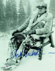 Jack Nicholson Signed Authentic Autographed 11X14 B/W Photo PSA/DNA #Y81932