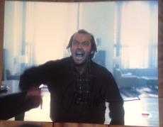 Jack Nicholson Signed Autograph Classic Shining Scene 11x14 Photo Psa/dna Y63405