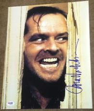 "Jack Nicholson Signed Autograph ""the Shining"" Classic 11x14 Photo Psa/dna W94445"