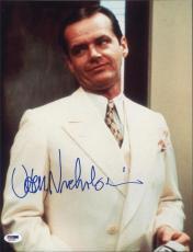 Jack Nicholson Signed Autographed 11x14 Photo Psa/dna  Q31326