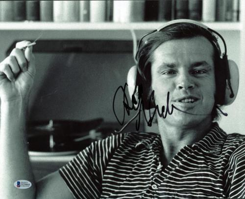 Jack Nicholson Signed Autographed 11x14 Photograph Beckett BAS Authentic