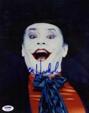 Jack Nicholson Signed Autographed 8x10 Batman Joker Photograph PSA/DNA