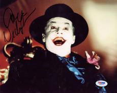 Jack Nicholson Signed Autographed 8x10 Batman The Joker Photograph PSA/DNA