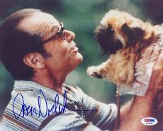 JACK NICHOLSON SIGNED AUTOGRAPHED 8x10 PHOTO AS GOOD AS IT GETS PSA/DNA
