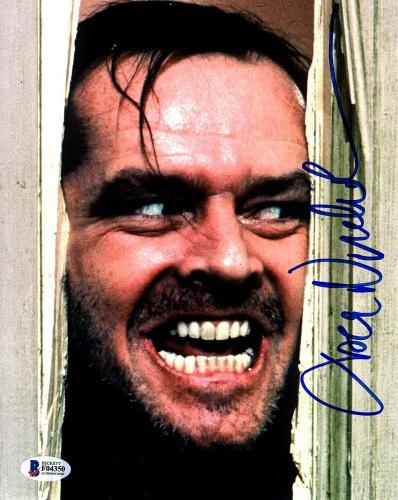 "JACK NICHOLSON Signed Autographed ""The Shining"" 8x10 Photo Beckett BAS #F04350"