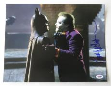 Jack Nicholson Signed Batman & Joker Autographed 11x14 Photo (PSA/DNA) #S34356