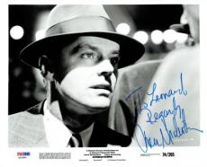 Jack Nicholson Signed Chinatown Authentic Auto 8x10 Photo PSA/DNA #X22985