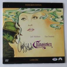 Jack Nicholson Signed Chinatown Authentic Laser Disc Cover (PSA/DNA) #T46891