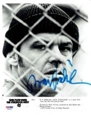 Jack Nicholson Signed Cuckoo's Nest Authentic Auto 8x10 Photo PSA/DNA #X06762