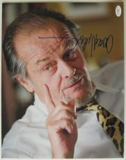 Jack Nicholson Signed Departed Authentic Autographed 11x14 Photo JSA COA #E74081