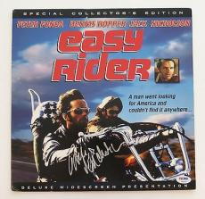 Jack Nicholson Signed EASY RIDER Autographed Laser Disc Cover (PSA/DNA) #T59007