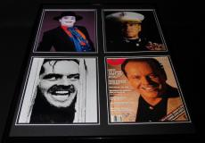 Jack Nicholson Signed Framed 18x24 Photo Display Joker Shining A Few Good Men