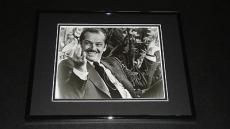 Jack Nicholson Signed Framed 8x10 Photo Poster AW The Shining Batman