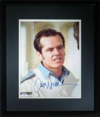 Jack Nicholson Signed Framed Authentic One Flew Over 11x14 Photo PSA/DNA #G74329
