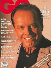 JACK NICHOLSON Signed GQ Magazine with PSA COA (NO Label)