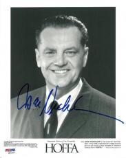 Jack Nicholson Signed Hoffa Authentic Autographed 8x10 Photo (PSA/DNA) #S81804