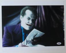 Jack Nicholson Signed Joker Authentic Autographed 11x14 Photo (PSA/DNA) #T13290