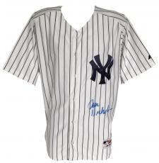Jack Nicholson Signed New York Yankees Authentic Majestic Jersey PSA Q60869