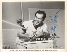 "JACK NICHOLSON Signed ""ONE FLEW OVER THE CUCKOO'S NEST"" 8x10 Photo JSA #S25936"