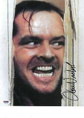 Jack Nicholson Signed The Shining Authentic 10x14 Photo (PSA/DNA) #M61384