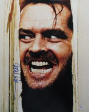 Jack Nicholson Signed The Shining Autographed 16x20 Photo (PSA/DNA) #S56509