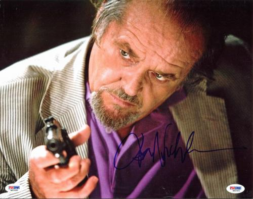 Jack Nicholson The Departed Signed 11x14 Photo PSA/DNA #W42621