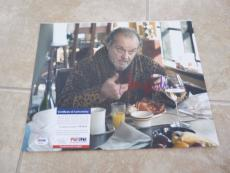 Jack Nicholson The Departed Signed Autographed 11x14 Photo PSA Certified
