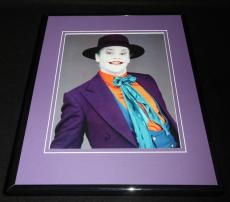 Jack Nicholson The Joker Batman 1989 Framed 8x10 Photo Poster