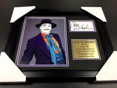Jack Nicholson The Joker Signature Autographed Reprint Batman Framed 8x10 Photo