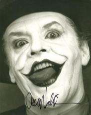 Jack Nicholson The Joker Signed 11x14 Herb Ritts Photo Jsa #j53893
