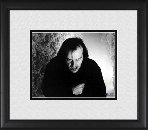 "Jack Nicholson The Shining Framed 8"" x 10"" Evil Photograph"