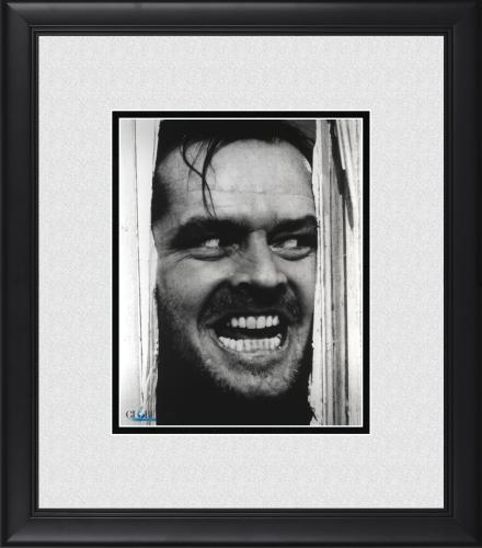 "Jack Nicholson The Shining Framed 8"" x 10"" Photograph"